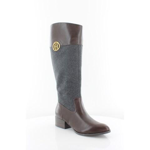 Tommy Hilfiger Madelen Women's Boots Dark Gray