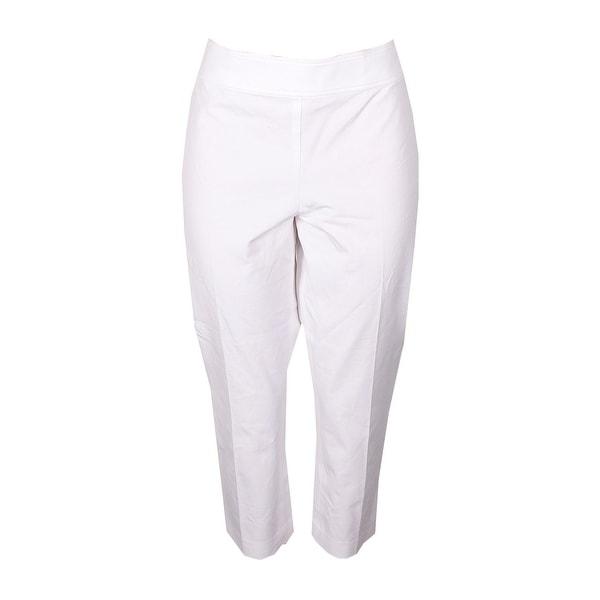 Lauren Raplh Lauren Soft White Stretch Twill Pants 14