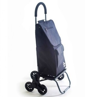 Stair Climber 2-in-1 Trolley Dolly - Black