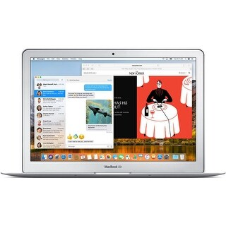 """Apple 13.3"""" MacBook Air Laptop (Mid 2017 / Silver)"""
