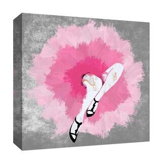 """PTM Images 9-126868  PTM Canvas Collection 12"""" x 12"""" - """"Dancing Moves II"""" Giclee Women Art Print on Canvas"""