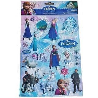 DISNEY FROZEN PUFFY STICKER SHEET
