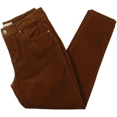 Copper Key Womens Juniors Pants Corduroy Crop