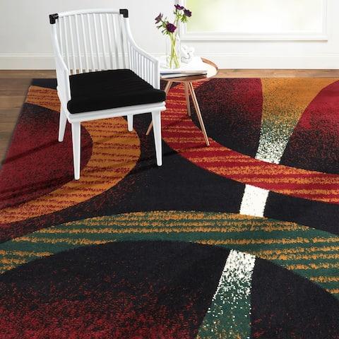 Home Dynamix Premium Indus Contemporary Geometric Area Rug