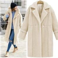 Long Sleeve Cashmere Coat