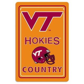 Bsi Products Inc Virginia Tech Hokies Metal Sign Metal Sign