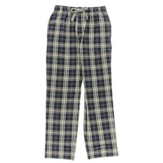 Majestic Mens Flannel Plaid Sleep Pant - M