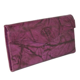 Buxton Women's Leather Long Bifold Organizer Wallet with Floral Emboss - One size https://ak1.ostkcdn.com/images/products/is/images/direct/2af2f1aafe301f782f4e67ab29219977a0ae9504/Buxton-Women%27s-Leather-Long-Bifold-Organizer-Wallet-with-Floral-Emboss.jpg?impolicy=medium