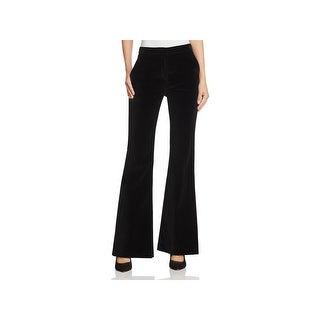 Theory Womens Caroleena Trouser Pants Velvet Flat Front