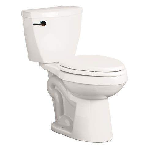 """Mirabelle MIRBD200 Bradenton 1.28 GPF Toilet Tank Only with 12"""" Rough In - Left Hand Trip Lever"""
