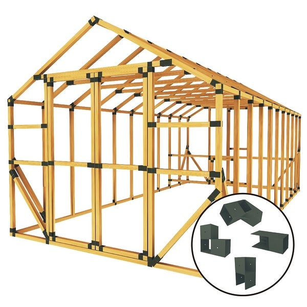 Shop Build Your Own E Z Frame 10x20 Standard Chicken Coop And Run