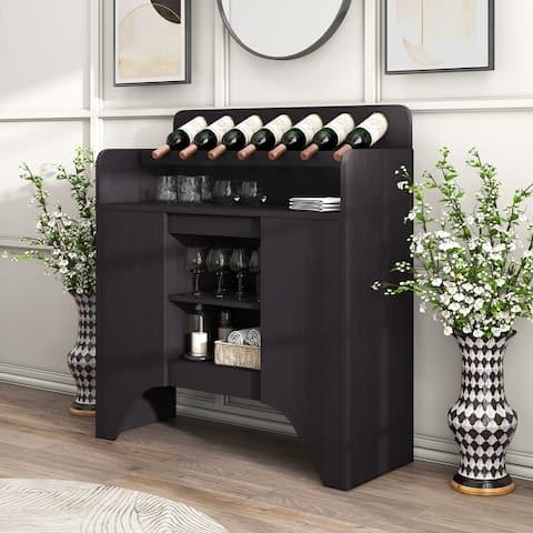 Furniture of America Franz Espresso Storage Buffet