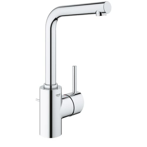 Grohe 23 737 Concetto 1.2 GPM Single Hole Swivel Spout Bathroom Faucet With  SilkMove And QuickFix Technologies (Includes Metal   Free Shipping Today ...