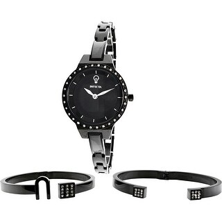 Invicta Women's Gabrielle Union Black Stainless-Steel Quartz Fashion Watch