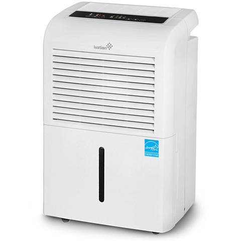 Ivation 70 Pint Energy Star Dehumidifier - Large-Capacity For Spaces Up To 4,500 Sq Ft - Includes Programmable Humidistat