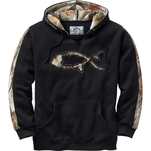 Legendary Whitetails Men's God's Country Camo Hoodie