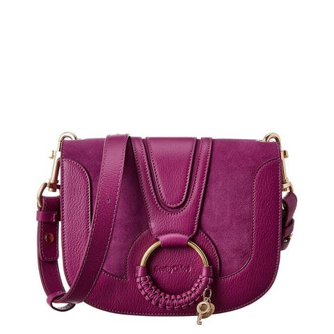 See By Chloe Hana Leather & Suede Shoulder Bag