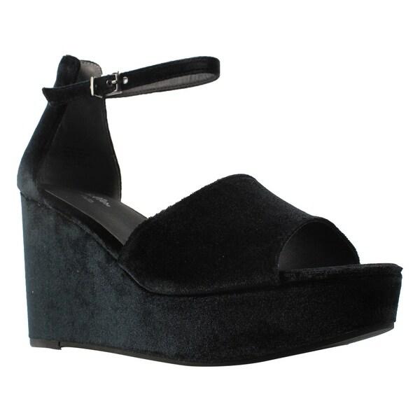 0c726256f71 Shop Seychelles Womens BlackVelvet Ankle Strap Sandals Size 10 New ...