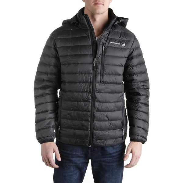 a9350239f Shop Free Country Mens Puffer Jacket Down 2-In-1 - Free Shipping ...