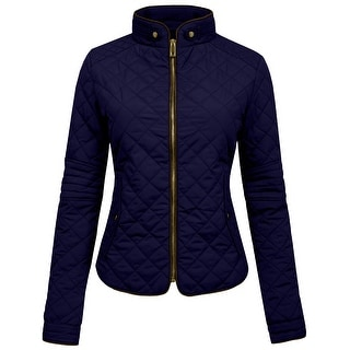 NE PEOPLE Womens Lightweight Quilted Zip Up Jacket [NEWWJ22]