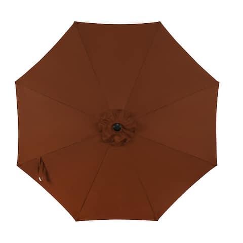 Trinidad II 9-ft Octagon Market Umbrella With Polyester Canopy