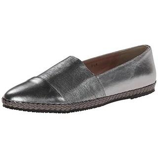 Sesto Meucci Womens Leather Slip On Flats - 5.5 medium (b,m)