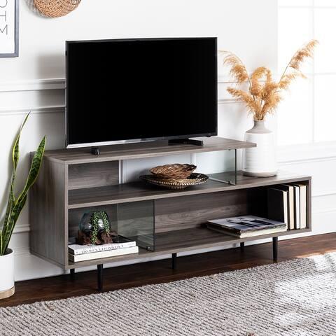 "Carson Carrington 60"" Asymmetrical TV Stand Console"