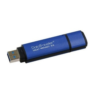 Kingston Digital 64Gb Data Traveler Aes Encrypted Vault Privacy 256Bit 3.0 Usb Flash Drive (Dtvp30/64Gb)
