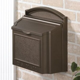 Whitehall Wall Mounted Locking Mailbox (French Bronze)