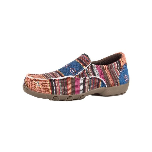 Roper Western Shoes Womens Johnnie Aztec 5 B Tan