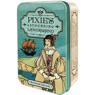 Pixie's Astonding Lenormand tin by Edward Zebrowski