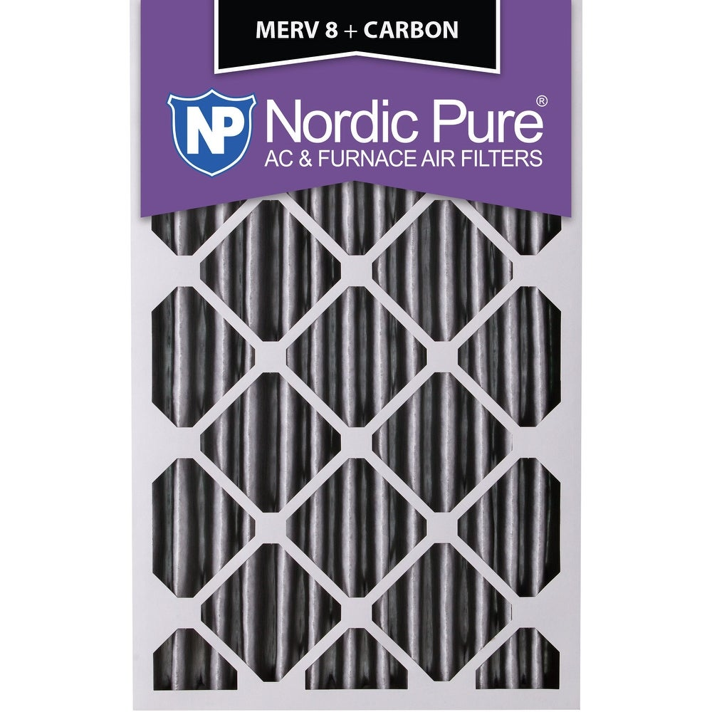 Nordic Pure 16x20x2 MERV 14 Pleated AC Furnace Air Filters 16x20x2 3 Pack