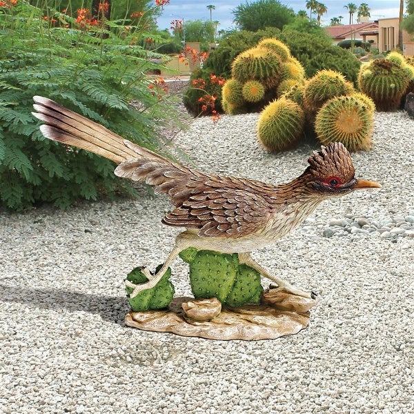 Design Toscano The Great Roadrunner Statue