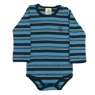 Pulla Bulla Toddler Long Sleeve Stripe Bodysuit for ages 1-3 years (3 options available)