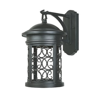 """Designers Fountain 31121-ORB 1 Light 9"""" Wall Lantern from the Dark Sky Barrington Collection - Oil Rubbed Bronze"""