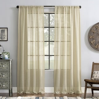 Link to Archaeo Slub Textured Linen Blend Curtain Similar Items in Window Treatments