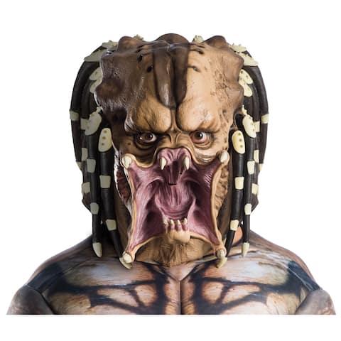 Adult Overhead Predator Latex Halloween Mask - Standard - One Size