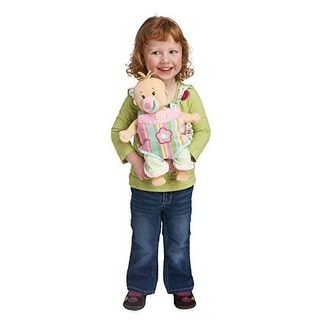 Manhattan Toy Baby Stella Snuggle Up Front Carrier Accessory for Nurturing Dolls