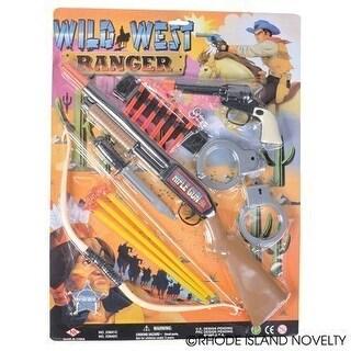 Rhode Island Novelty Wild West Ranger Cowboy and Indian Set