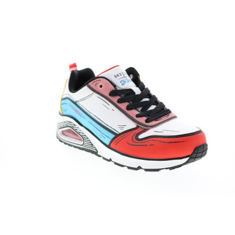Skechers Uno Jump And Kicks White Multi Womens Collaboration & Limited Sneakers