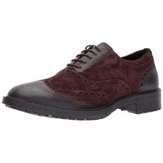 Geox Mens Kapisian Suede Lace Up Casual Oxfords - 9