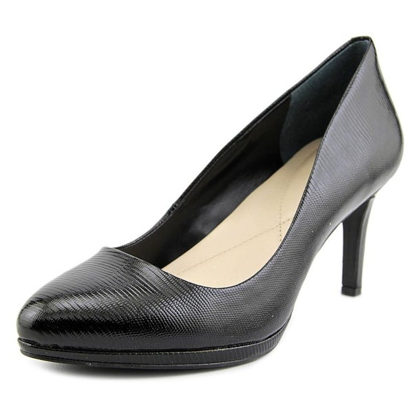 Alfani Glorria Women Round Toe Synthetic Black Heels