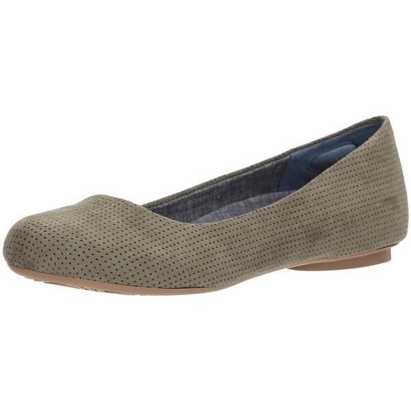 662cddca1aab Shop Dr. Scholl's Shoes Womens Friendly2 Closed Toe Ballet Flats ...