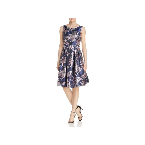 Eliza J Womens Cocktail Dress Floral Fit & Flare - 4