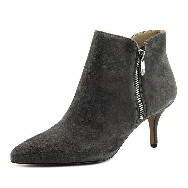 Adrienne Vittadini Senji Women Pointed Toe Suede Bootie