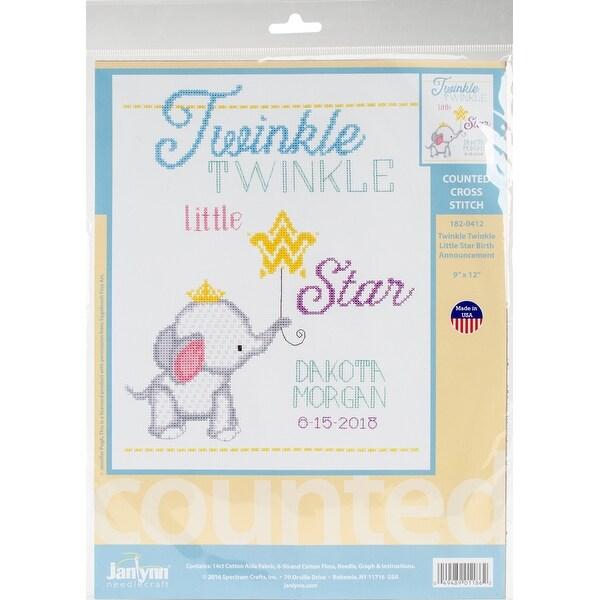Twinkle Twinkle Little Star Counted Cross Stitch Kit-9