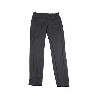 Bcx Juniors Black Side-Suede Leggings S