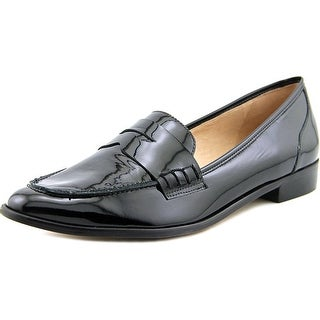 Lust for Life Noa Women Round Toe Patent Leather Black Loafer