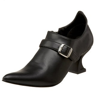 Witch w/ Buckle Women's Costume Shoes - Black (3 options available)