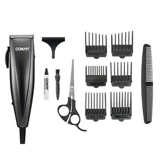 Conair HC108GBV Simple Cut Haircut Kit, 12-Piece